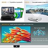 Zoom IMG-1 mini proiettore fangor videoproiettore portatile