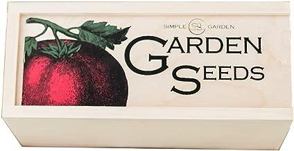 Best garden seed storage organizer Reviews