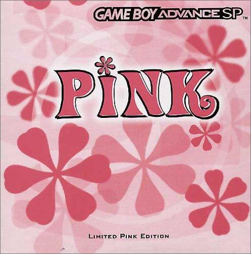 Game Boy Advance SP Konsole pink