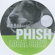 Phish 1999 Tour Backstage Pass Crew