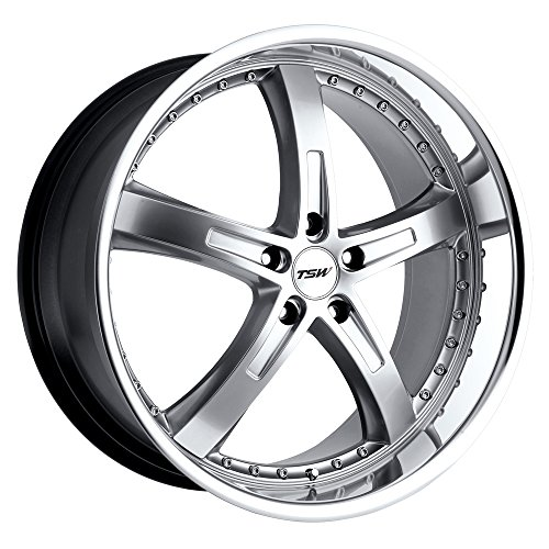 TSW JARAMA Silver Wheel with Painted Finish (18 x 8. inches /5 x 4 inches, 40 mm Offset)