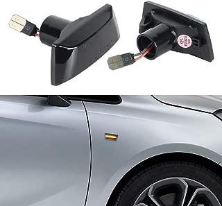 2008- Zesfor Luces de matr/ícula LED para Opel Vectra C