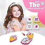 Mobiliarbus Girls Makeup Kit para ni?os Set de Maquillaje Lavable Girls Play Cosmetics Set Fashion Makeup Kit para ni?os