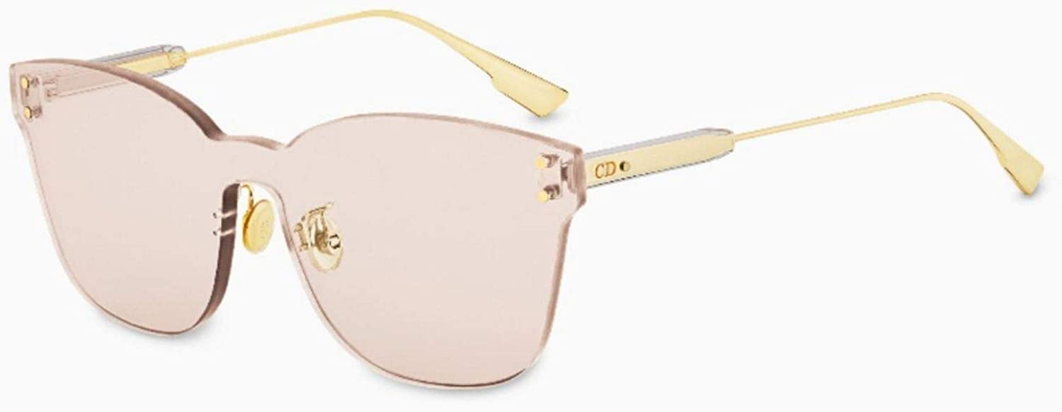 Dior Authentic Christian color Quake 2 FWMVC gold Pinky Beige Sunglasses