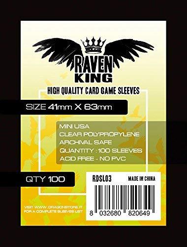 Raven- Bustine Protettive, 6.3 x 4.1 cm, RDSL03