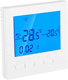 FTVOGUE - Termostato inalámbrico inalámbrico para el hogar (pantalla LCD digital, 110 V)
