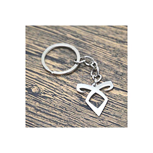 12 Teile/los The Shadowhunters Inspired Angelic Power Rune Halsketten Armbänder Armreifen Schlüsselbund Lesezeichen schlüsselbund