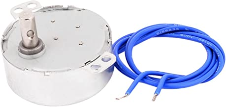 Uxcell a16010600ux0084 CCW/CW Direction 4W 50/60Hz Frequency 5-6RPM Synchronous Motor AC 100-127V