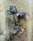 KRF Hunting 3D Ghillie Phantom Bosque Traje de Camuflaje, Hombre, Verde, M-L