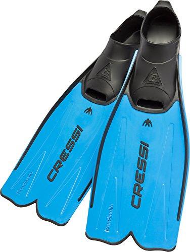 Cressi Rondinella - Aletas, color azul, talla 43-44