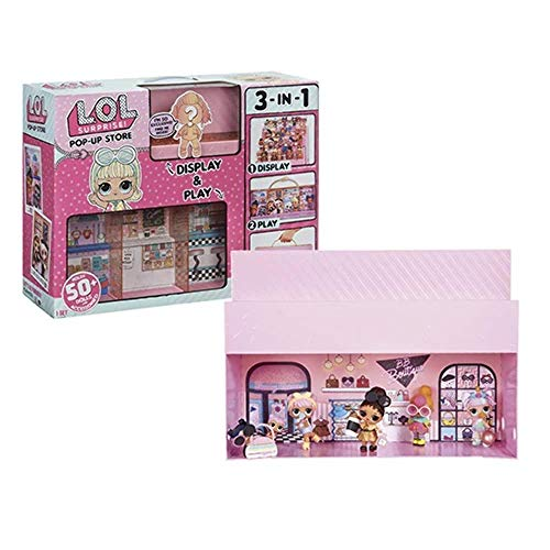 LOL Surprise Pop-Up Store 3 In 1 Play set Collection Display Case Exclusive Doll