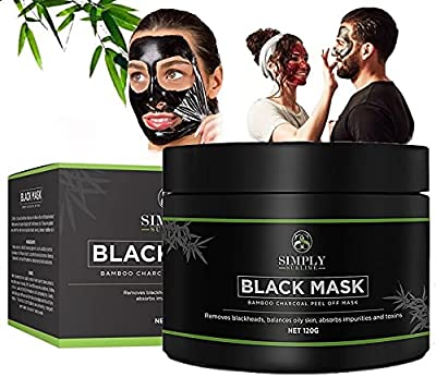 Peel Off Face Masks - Blackhead Remover Mask - Charcoal Face Mask - Face Masks Beauty Peel Off - Blackhead Mask - Acne Treatment For Men or Women - Face Masks Skincare from Simply Sublime