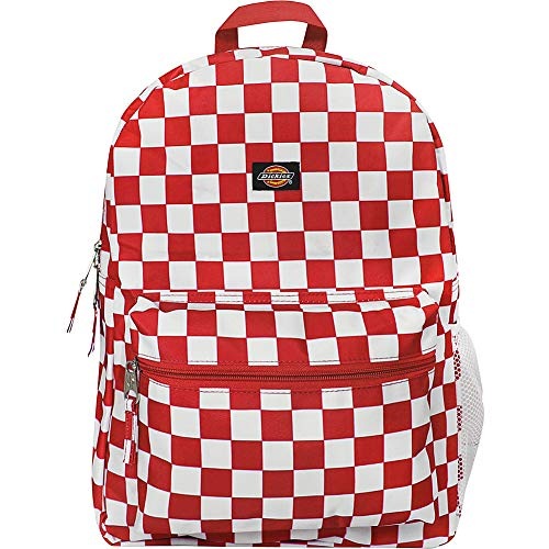 Dickies Student, Red/White Checkerboard