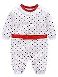 Odziezet Unisex Baby Strampler Neugeborenes Kletterkleidung Baumwolle für Kinder 0-12 Monate