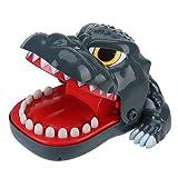Josopa Jeu de société amusant avec dents de dinosaure pour enfants et adultes
