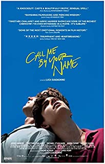 newhorizon Call Me by Your Name Movie Poster 17'' x 25'' NOT A DVD