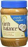 Earth Balance Coconut and Peanut Butter Spread, Crunchy, 500 Gram