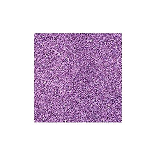 Farbsand, Dekosand, Aubergine, 0,5mm, 1kg im Beutel, (1,95€ / kg) Season