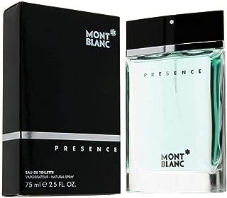 Presence By M0ntblan EDT Eau De Toilette EDT Spray For Men 2.5 fl oz / 75 ml
