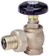 Watts 0067623 Hot Water Angle Radiator Valve - FIP x Male Union, 1-1/4 Inch, Bronze