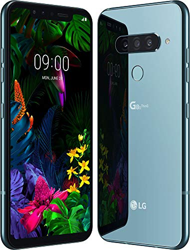 LG G8s Smartphone (15,77 cm (6,21 Zoll) OLED Display, 128 GB interner Speicher, 6 GB RAM, DTX:X Sound, Android 9) Mirror Teal