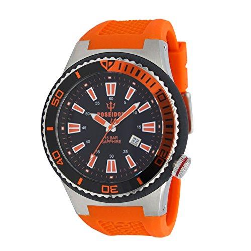 POSEIDON by KIENZLE XL Uhr Analog mit Silikon Armband UP00610