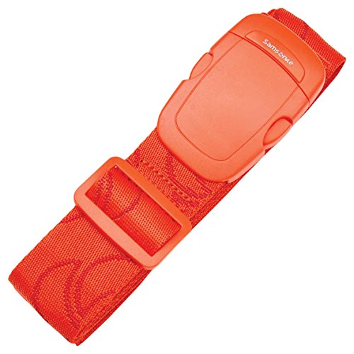 Samsonite Luggage Strap, Varsity Red