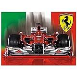FERRARI F1 Auto-Flagge