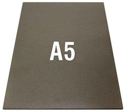 First4magnets NFA5 3M selbst klebende Flexible A5 Neodym Magnetfolie (210 x 148 x 1 mm) (1 Packung), silver, 25 x 10 x 3 cm