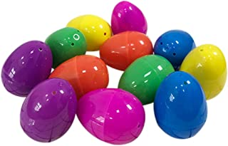 12PCS Easter Eggs Filled With Mini Dinosaurs And Mini Car