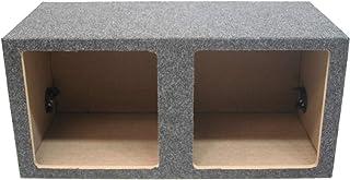 "Car Audio Dual 10"" Sealed Square Sub Box Enclosure fits Kicker L7 Subwoofer photo"