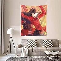 遠坂凛9 タペストリー オシャレ 3 D印刷ウォールアート 多機能 ホーム装飾 個性 インテリア 壁飾り 背景布