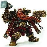 lkw-love World of Warcraft: King Dwarf: Creative Gift Magni Bronzebeard Figura Figma 5 7 Pulgadas