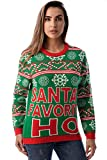#followme Womens Ugly Christmas Sweater - Sweaters for Women 6773-225-L