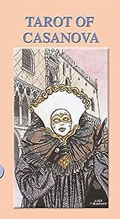 Kancharo タロットカード 78 枚 タロット占い【タロット オブ カサノバ Tarot of Casanova】日本語説明書&ポーチ付き(正規品)