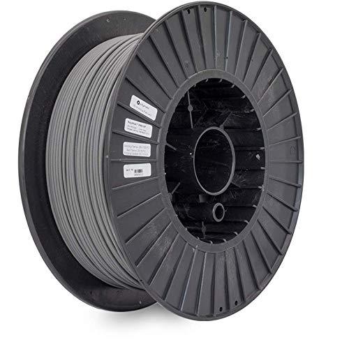 Polymaker 3D Printer Industrial Nylon 6 Filament, PolyMide PA6-GF Grey Filament, Glass Fiber Reinforced Nylon 6 Filament, 2kg(4.4lb) 1.75mm Filament…