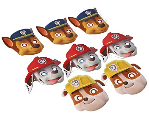 Cheapest Price! American Greetings Paw Patrol Party Supplies Paper Character Masks, 8-Count