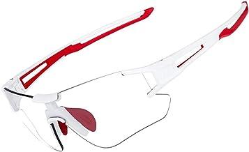 ROCKBROS Fietszonnebril Dames Heren Fotochromatisch met UV400 Bescherming Fietsbril Transprante Meekleurend voor Buitenspo...