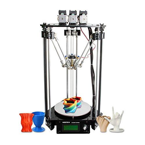aibecy Geeetech Rostock 301Mix colore FDM stampante 3d diy kit 3in 1Out triplo della stampante a colori con 0,4mm ugello 1.75mm filamento diametro