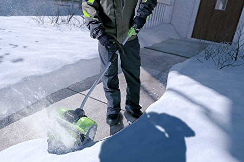 Snowy? Frosty? No problemo with an electric snow shovel 18
