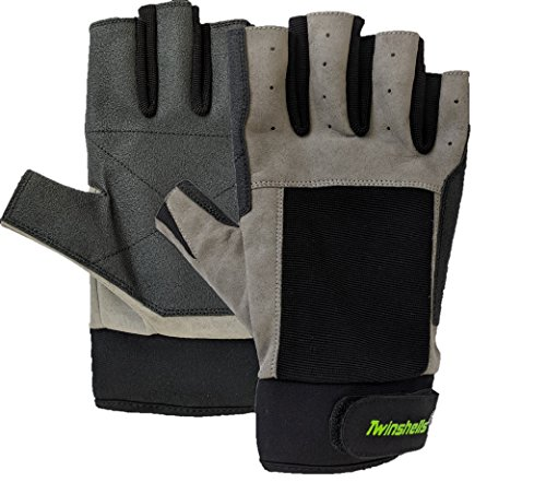 Twinshells New Sailing Gloves 3/4 Finger - Great for Sailing, Yachting, Paddling, Canoeing, Fishing, Dinghying for Men, Women, and Childs