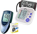 Dr. Morepen Equipment - Dr. Morepen Blood Pressure Monitor and Glucose Check Monitor Combo - (Multicolor)