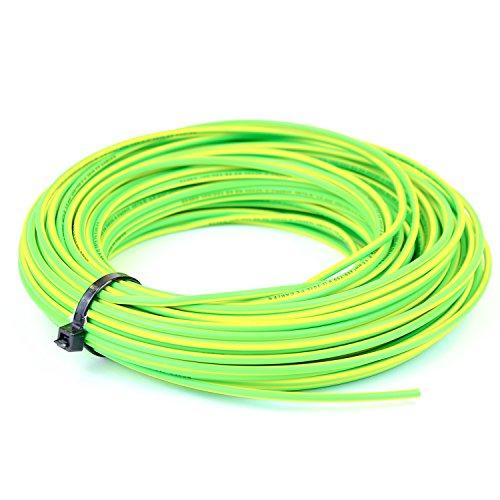 4mm Einadriges Kabel 6491X blau - spannungsführend, braun - neutral, gelb/grün - Erdung, ganze Rolle oder Meterware