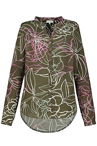GINA LAURA Damen Bluse khakigrün 46 782422190-46