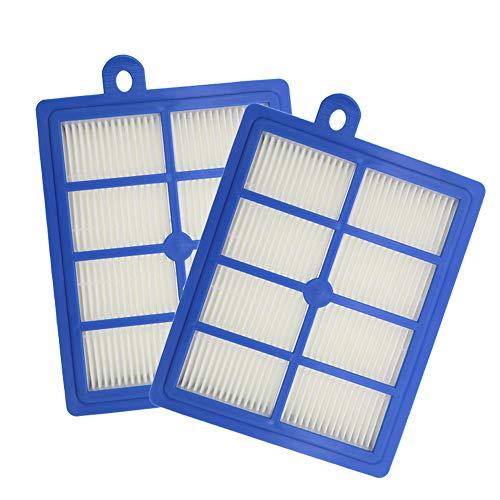 WuYan 2 unids filtro HEPA Partes de aspirador reemplazo para Electrolux lavable H12 EL4100 EL6986A EL4050 ZE346B ZUA3840P ZTI7635