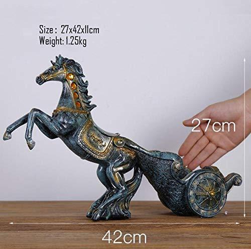 Sculptuur Ornamenten Ornament Sculptuurdecor Sculptuurhertenkoets Paard En Wagen Wijnrek Decoratie Moderne Wijnkast Decoraties Huwelijksgeschenken Tv-Meubel Ideeën