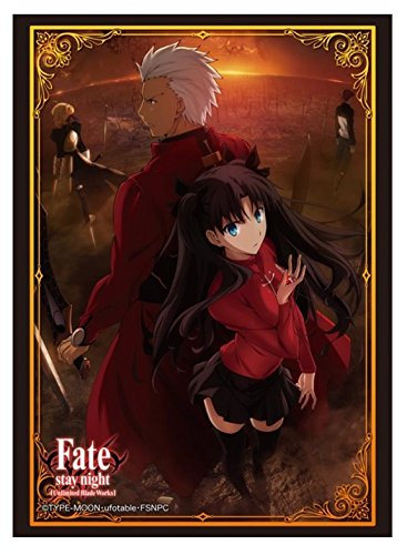 Rin and Archer FSN UBW Card Game Character Sleeves Collection HG Vol.777 Anime Girl Tohsaka Master & Servant Fate/Stay Night Unlimited Blade Works High Grade