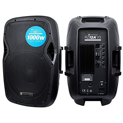 Evolution Audio RZ12A V3 12' 1000W Active DJ Disco PA Club Stage Speaker
