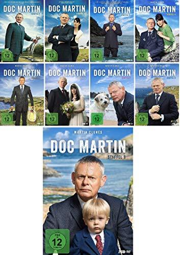Doc Martin - Staffel 1-9 (1+2+3+4+5+6+7+8+9) Komplette Serie im Set - Deutsche Originalware [19 DVDs]