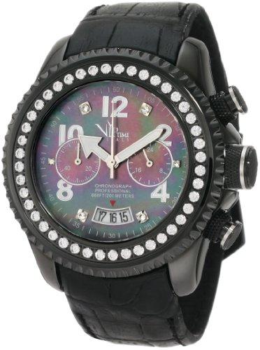 VIP TIME ITALY Reloj con Movimiento Cuarzo japonés Woman VP8001BS_BK 43 mm
